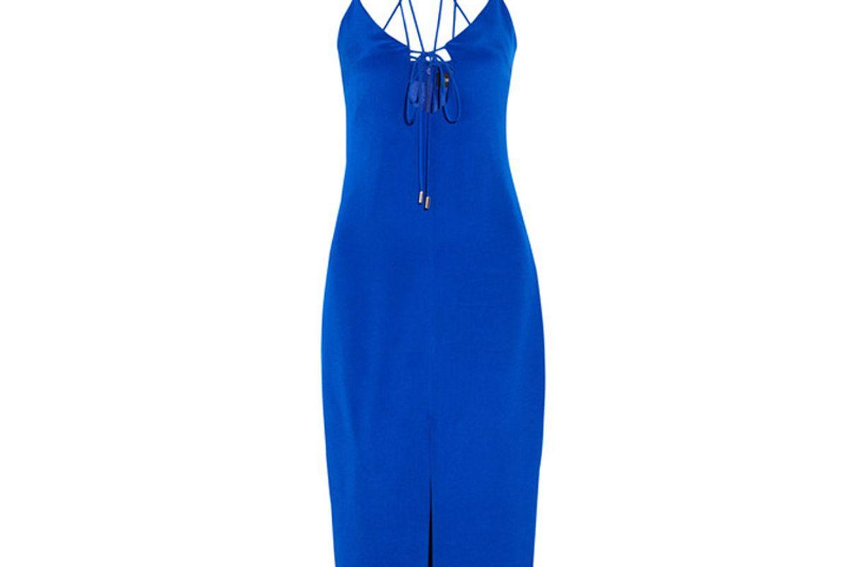 Courtney Cutout Silk-Crepe Dress