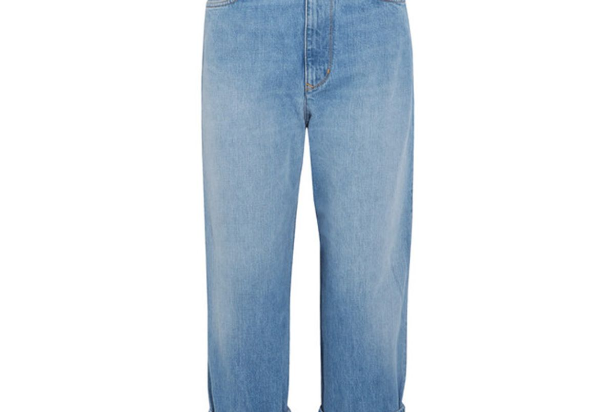 Kim High-Rise Straight-Leg Jeans