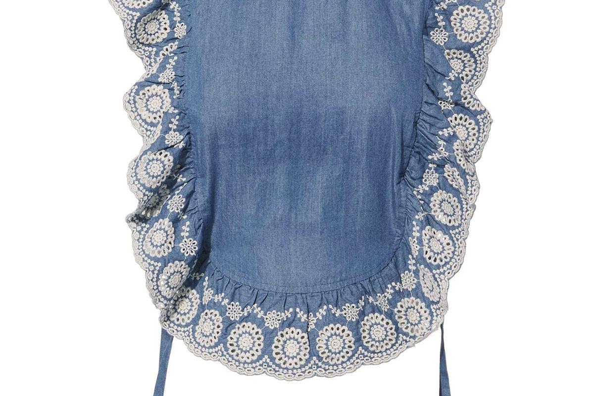 nightcap clothing chambray apron top