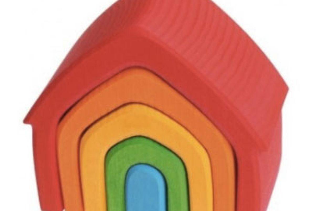 Rainbow Nesting House