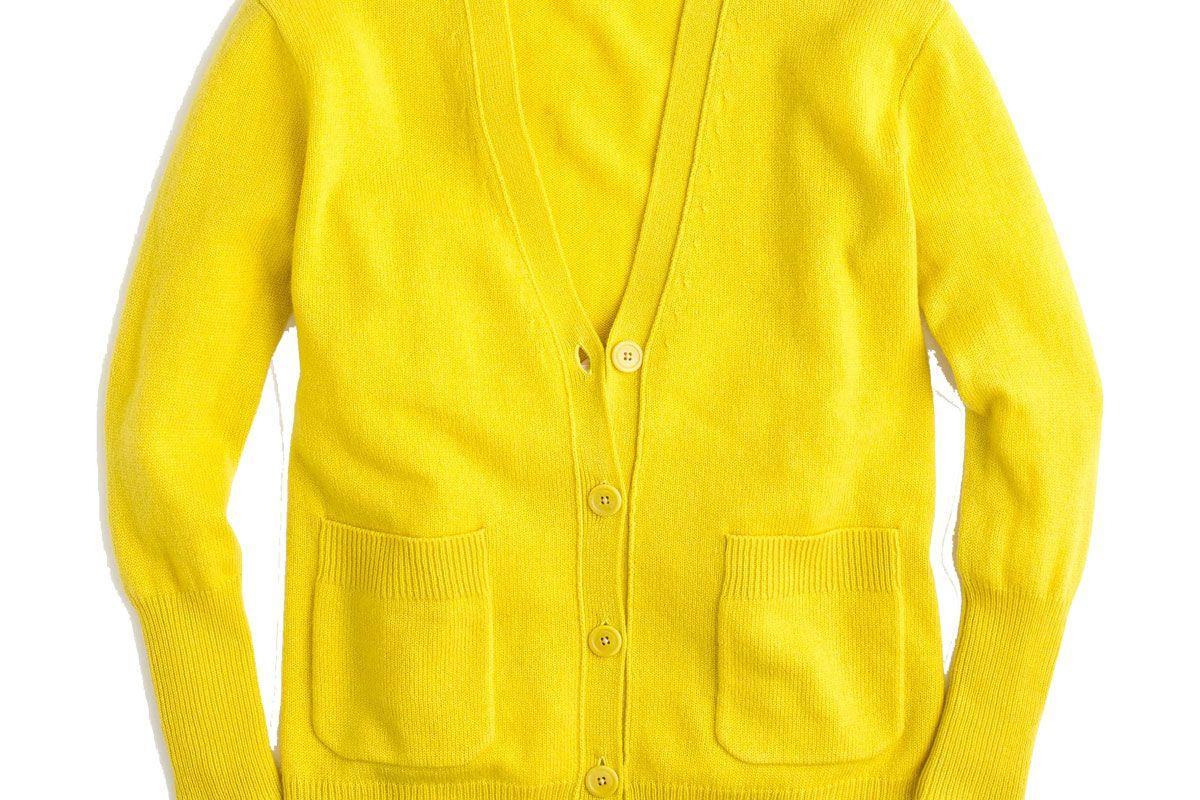 Oversized cardigan in wool-blend