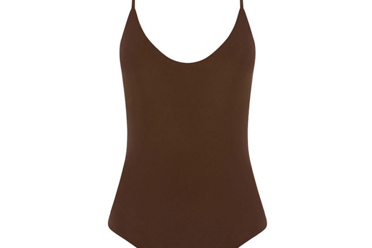 Cross Back Maillot Swimsuit