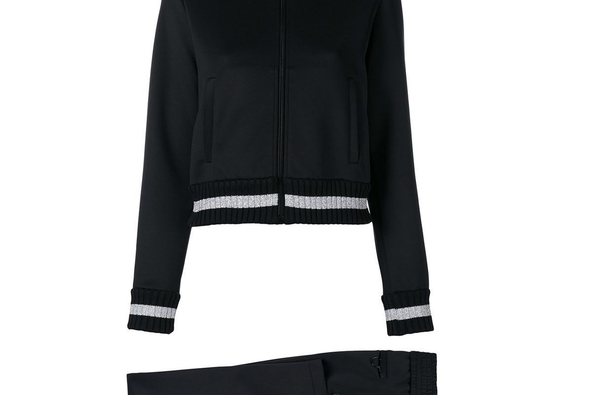 Embroidered Patch Tracksuit