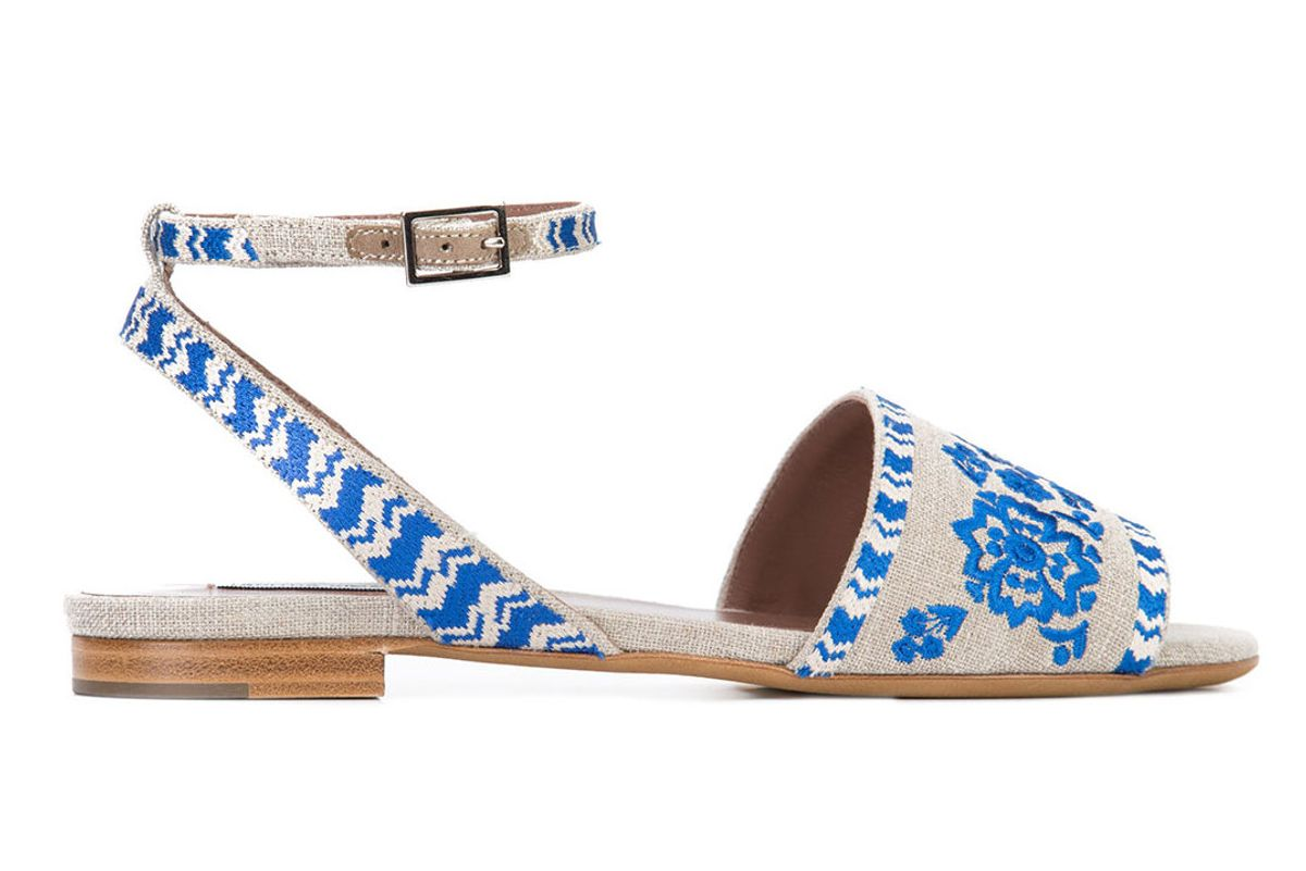 Petal Festival sandals
