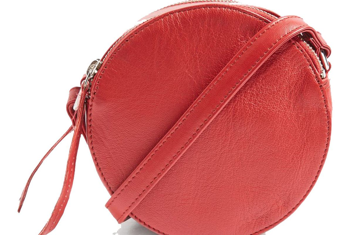 Leather Orlo Cross Body Bag