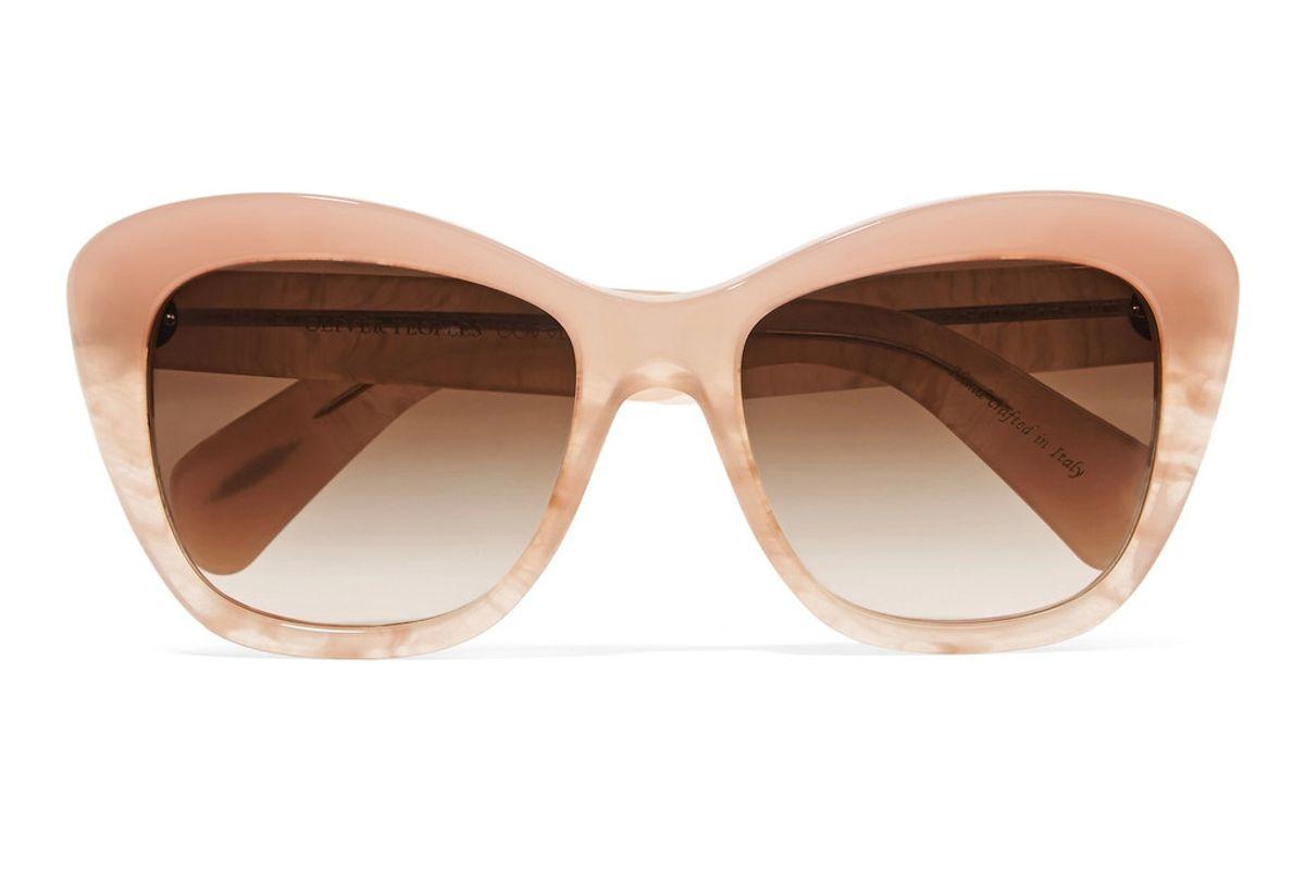 Emmy D-Frame Acetate Sunglasses