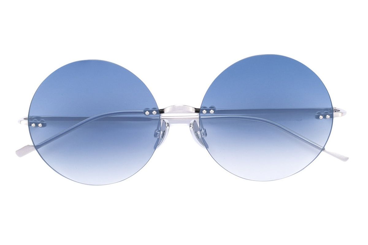 So Glam Round Sunglasses