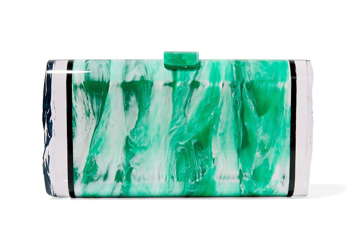 Lara acrylic box clutch