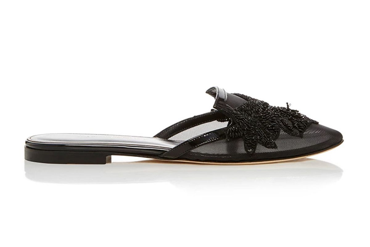 Patrizia Embroidered Slippers