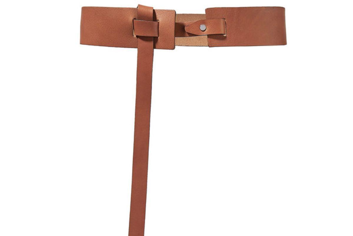 Linden Leather Waist Belt
