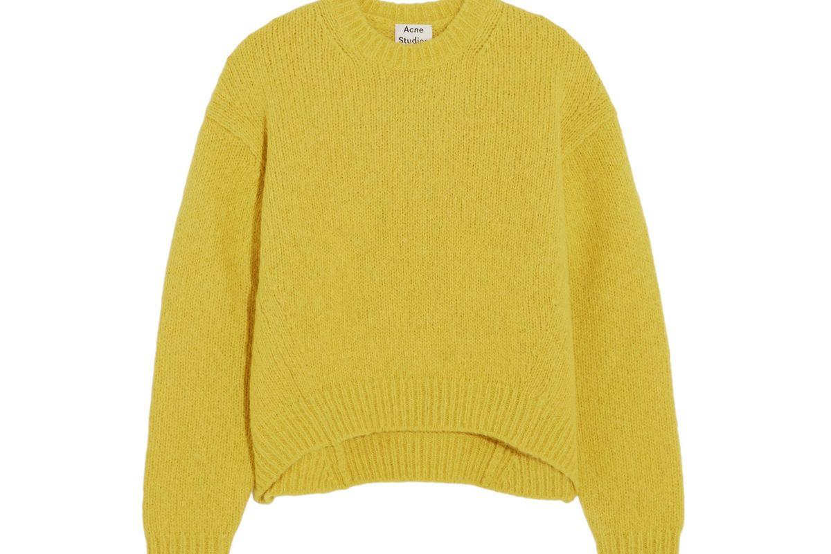 Shira oversized alpaca-blend sweater