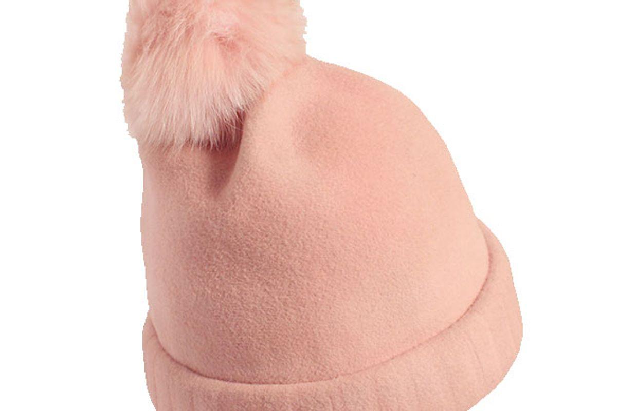 Bunnie Beanie in Pink