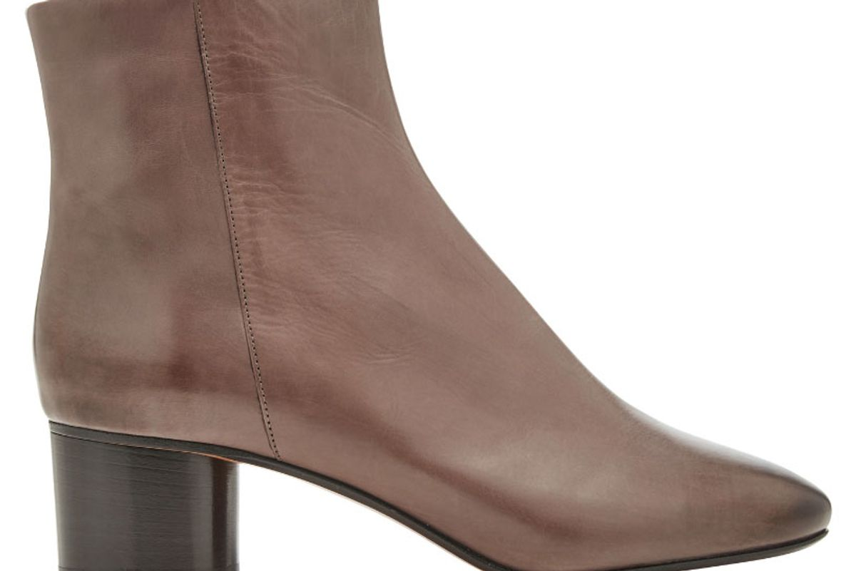 Danay Leather Ankle Boots