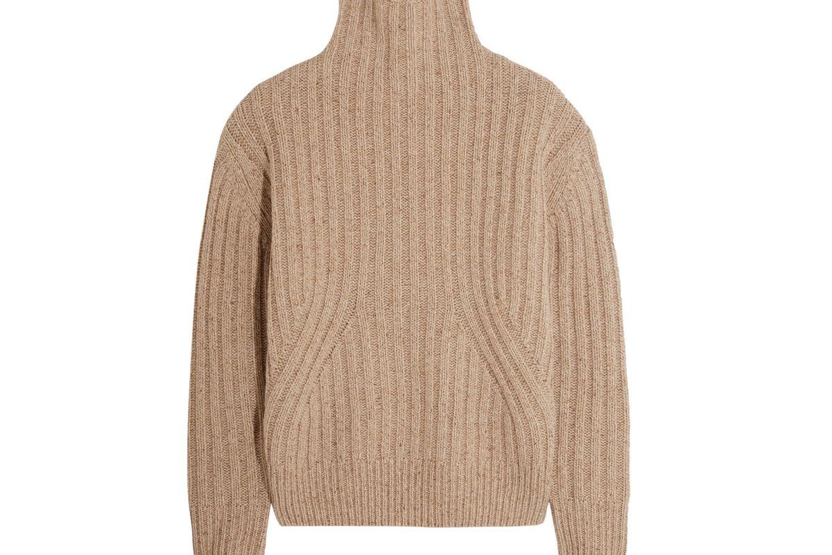 Verbier ribbed wool-blend turtleneck sweater