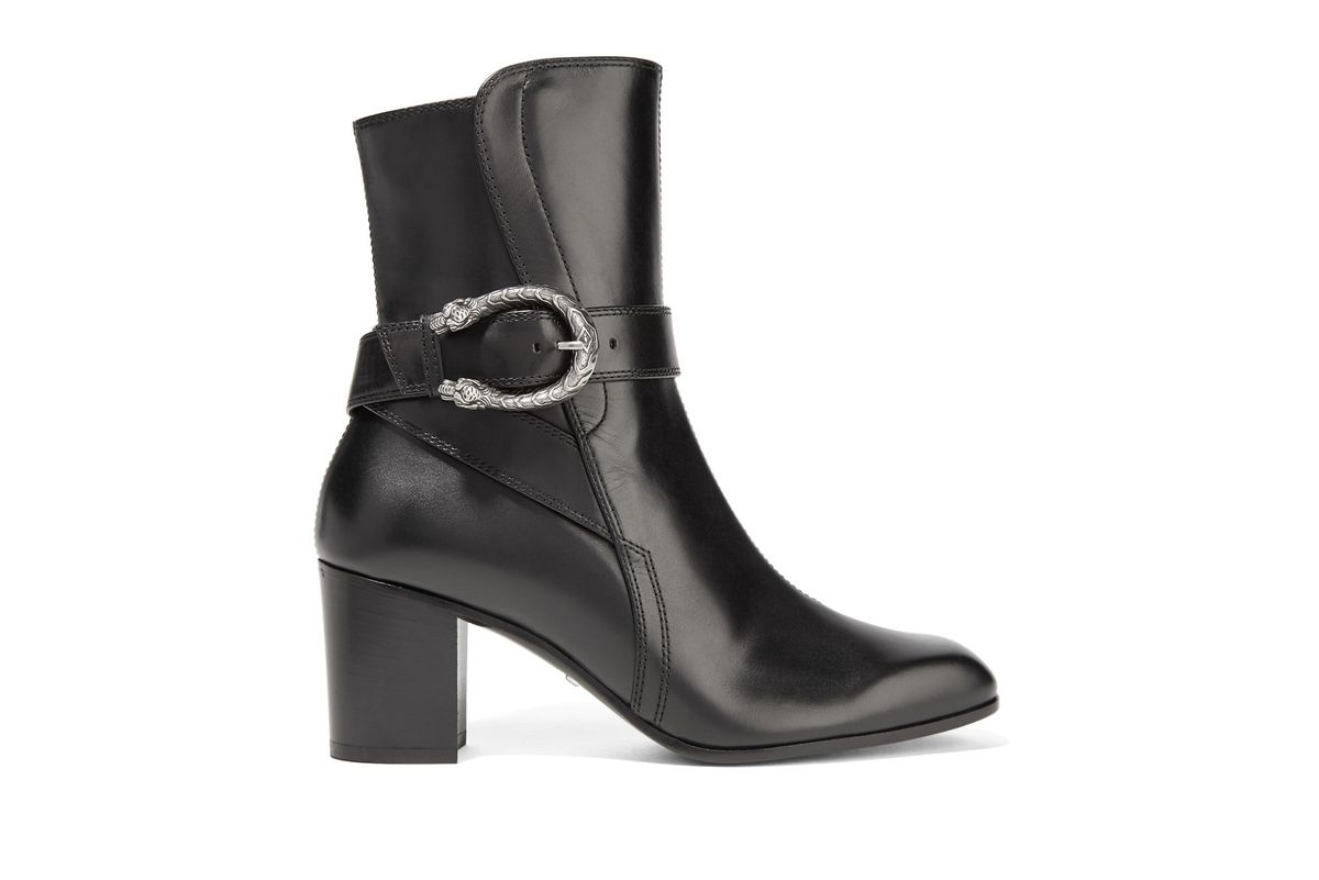 Dionysus leather ankle boots