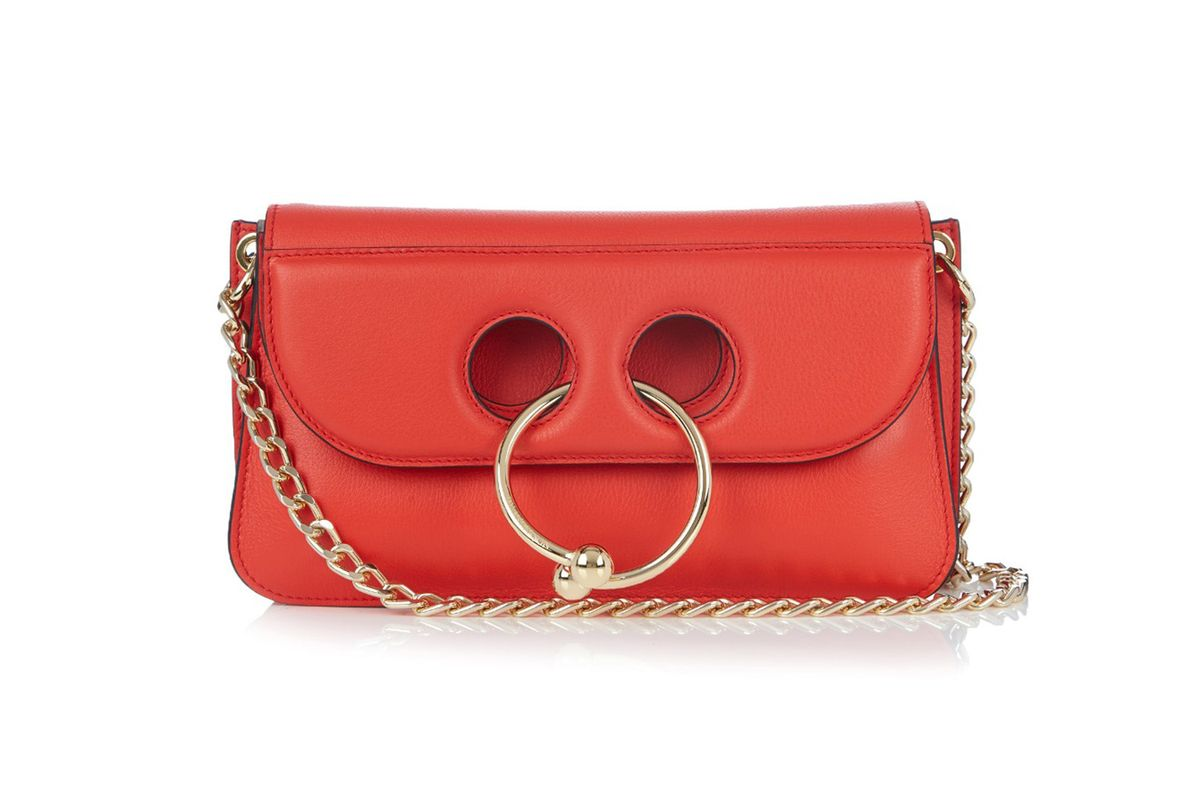 Pierce leather cross-body bag