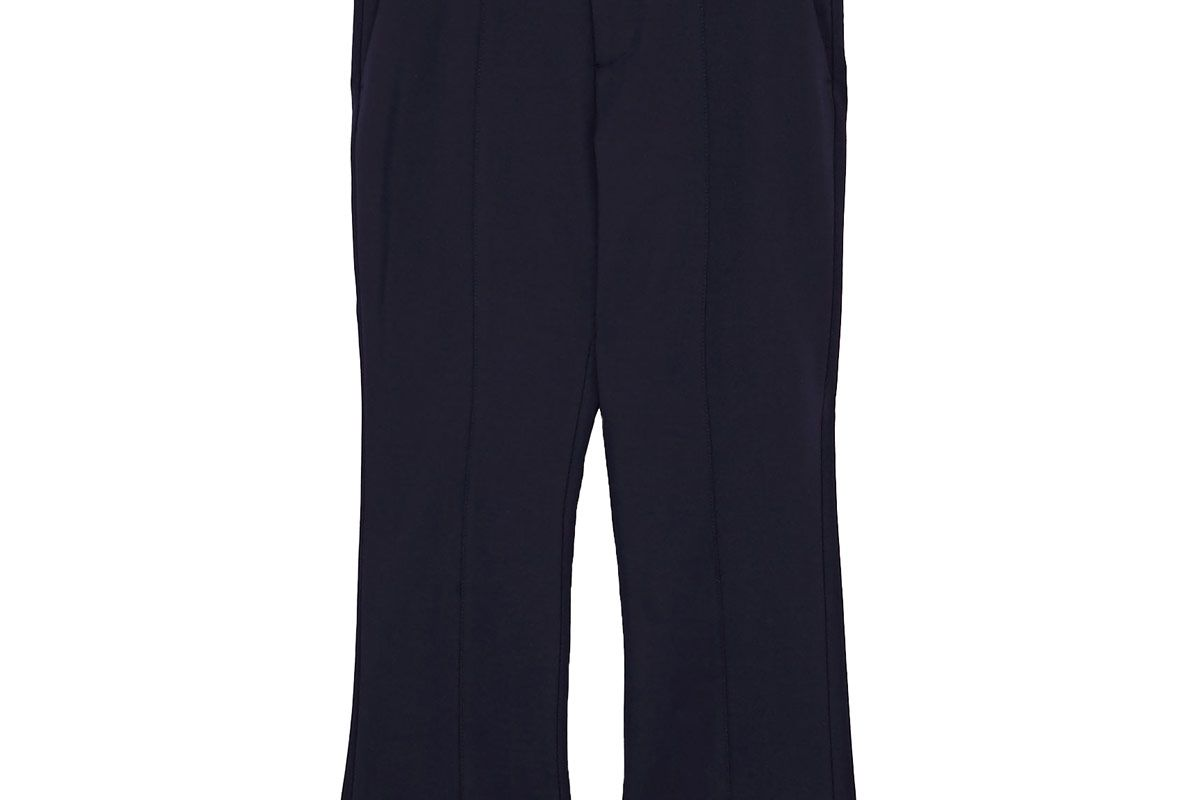 Cropped Trouser with Seam Detail