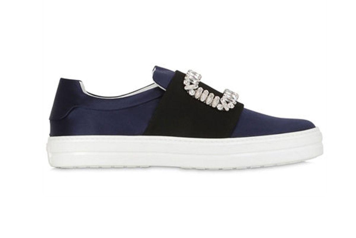 Sneaky Viv Silk Satin Sneakers