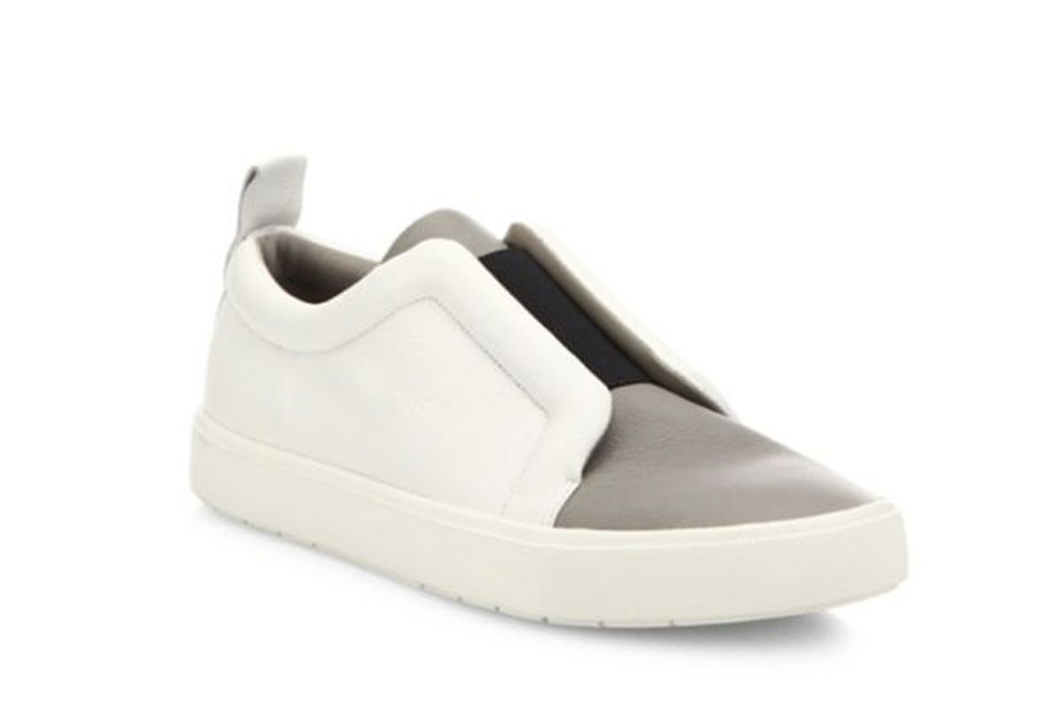 Caden Leather & Textile Skate Sneakers