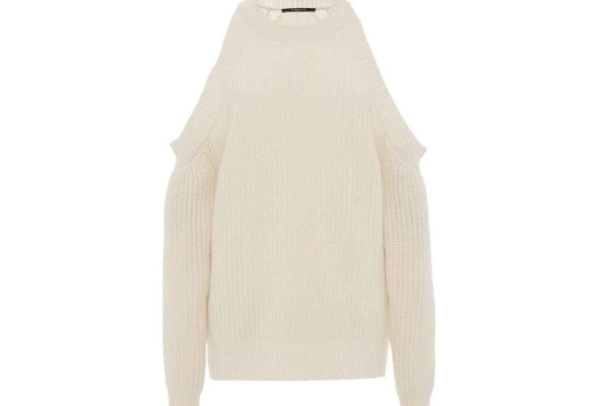 Cashmere Cutout Sweater