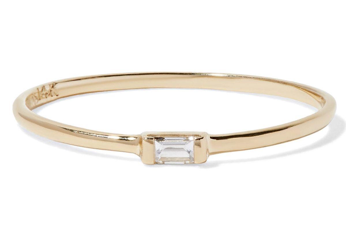 14-Karat Gold Diamond Ring
