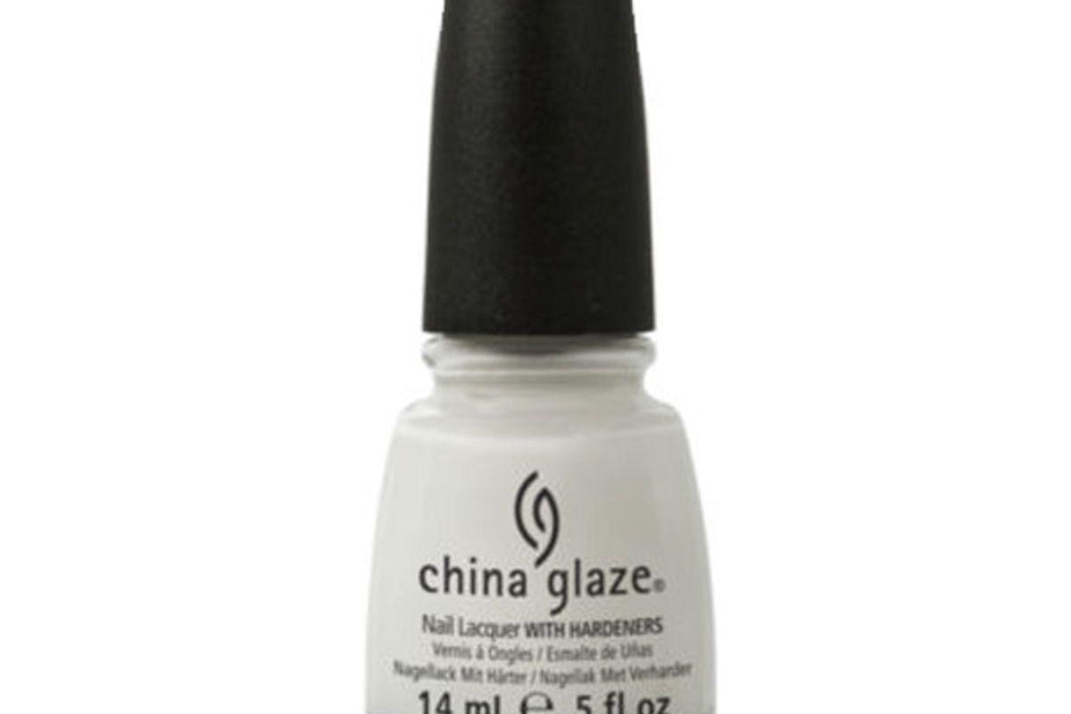 Nail Polish in White On White