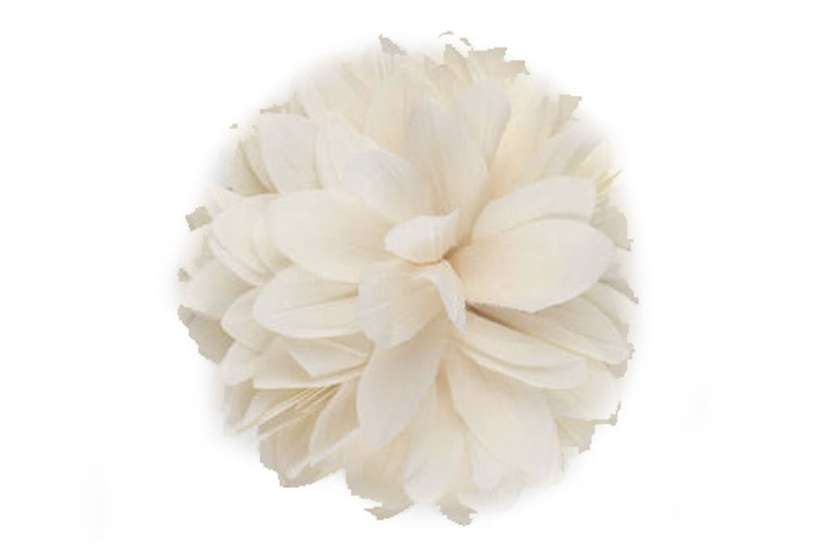 Flower Brooch in Silk and Cotton