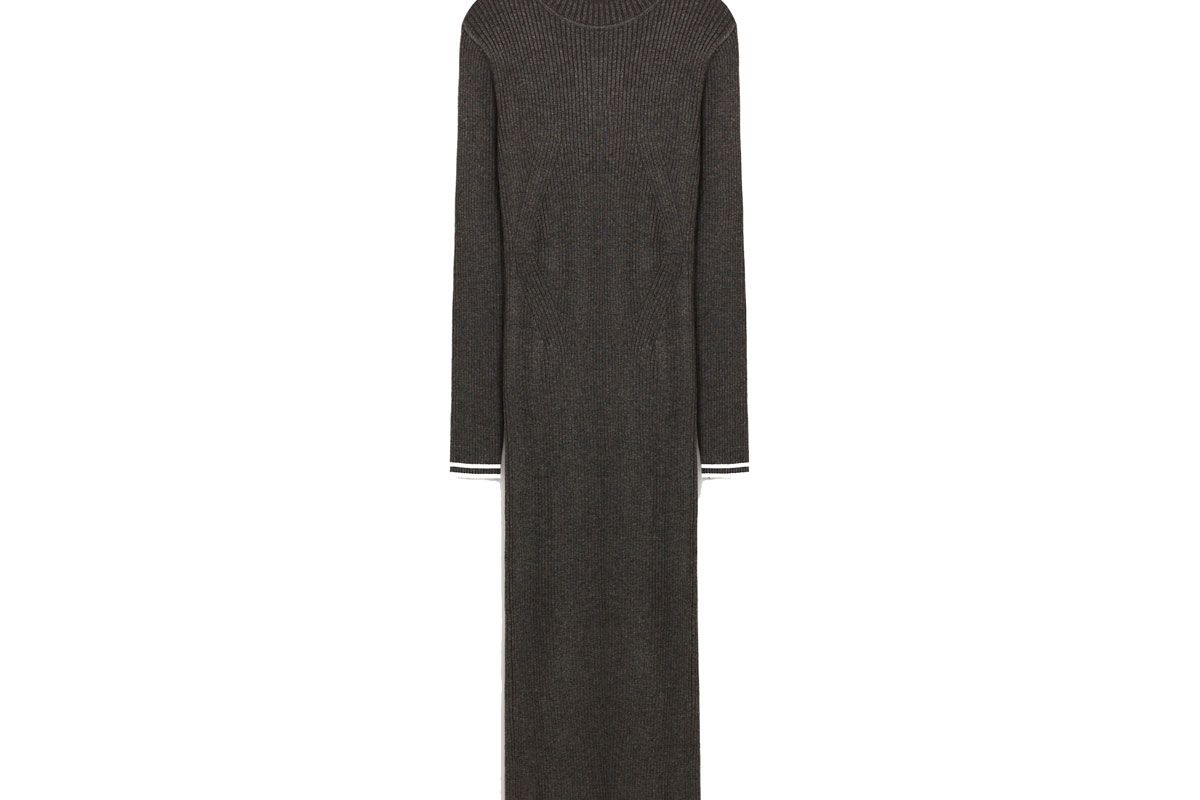 Long Ribbed Dress