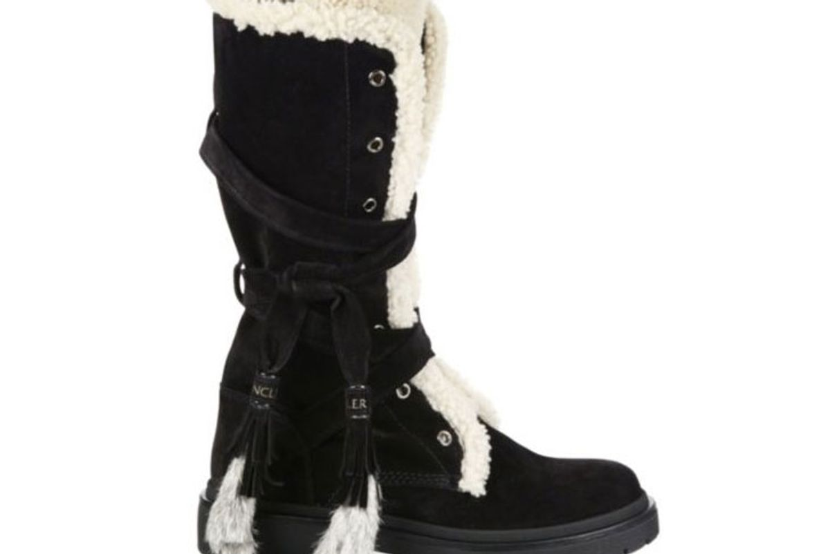 Janis Suede, Shearling & Rabbit Fur Boots