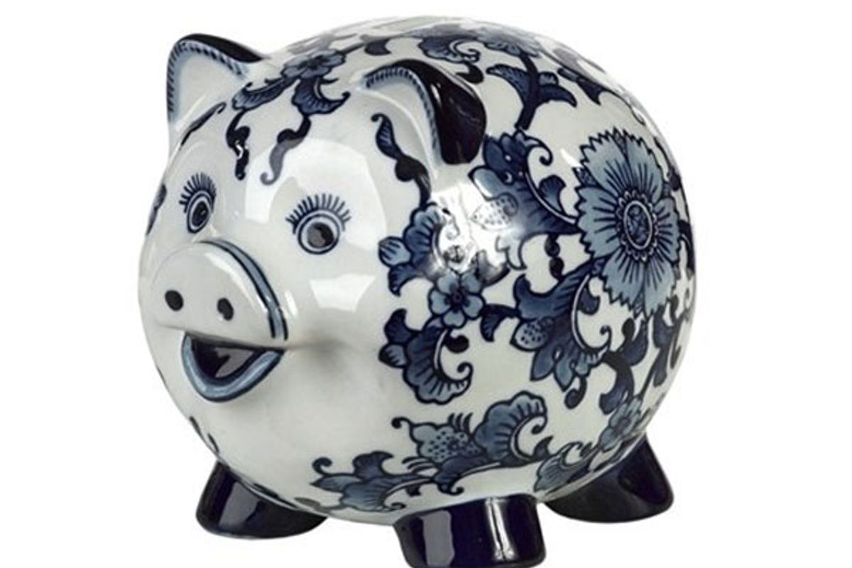 Piggy Bank Dutch Pig
