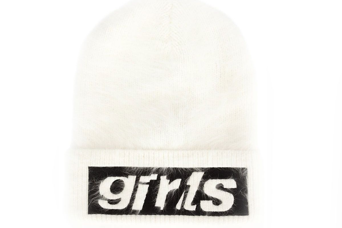 Girl Embroidered Beanie