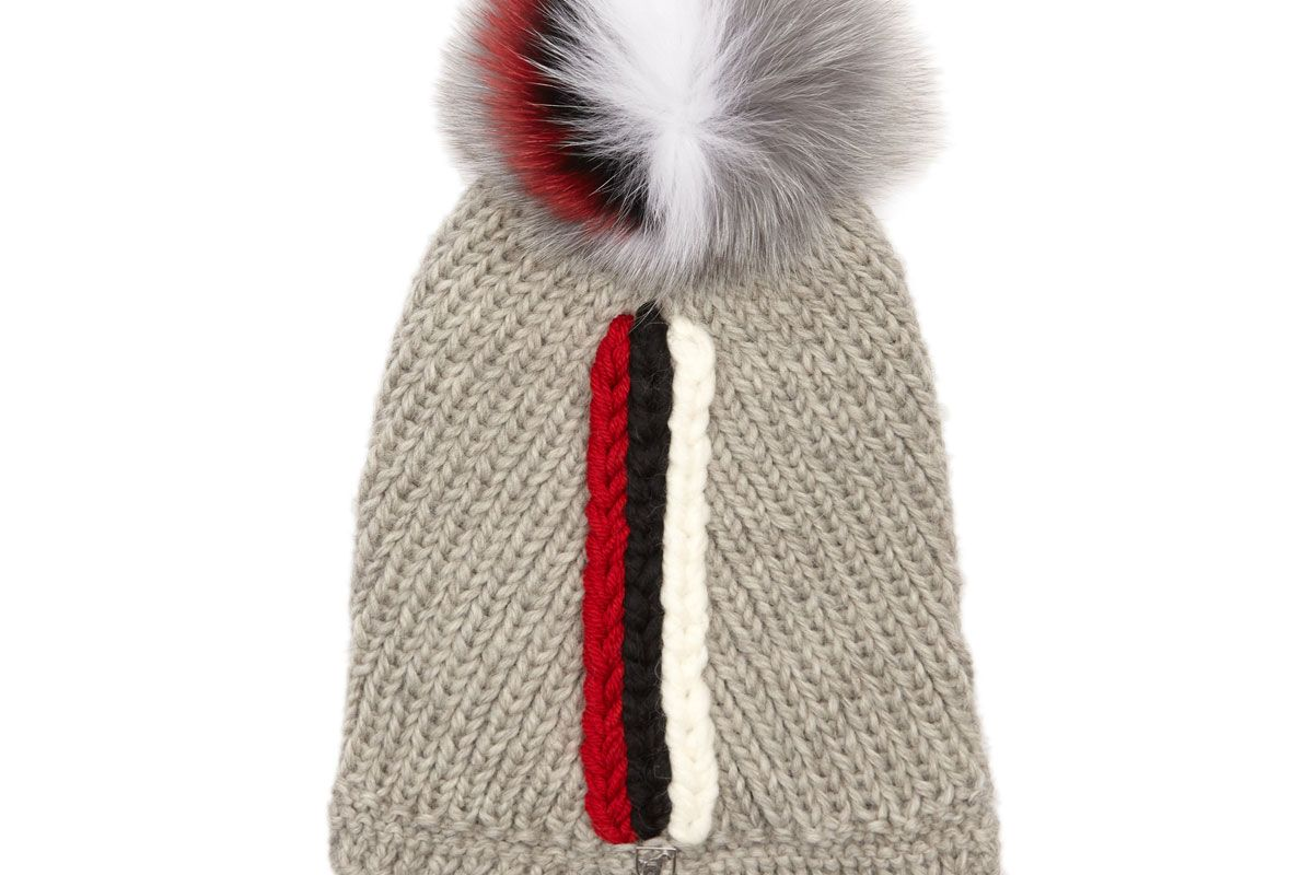 Sophie Wool-Blend Beanie Hat