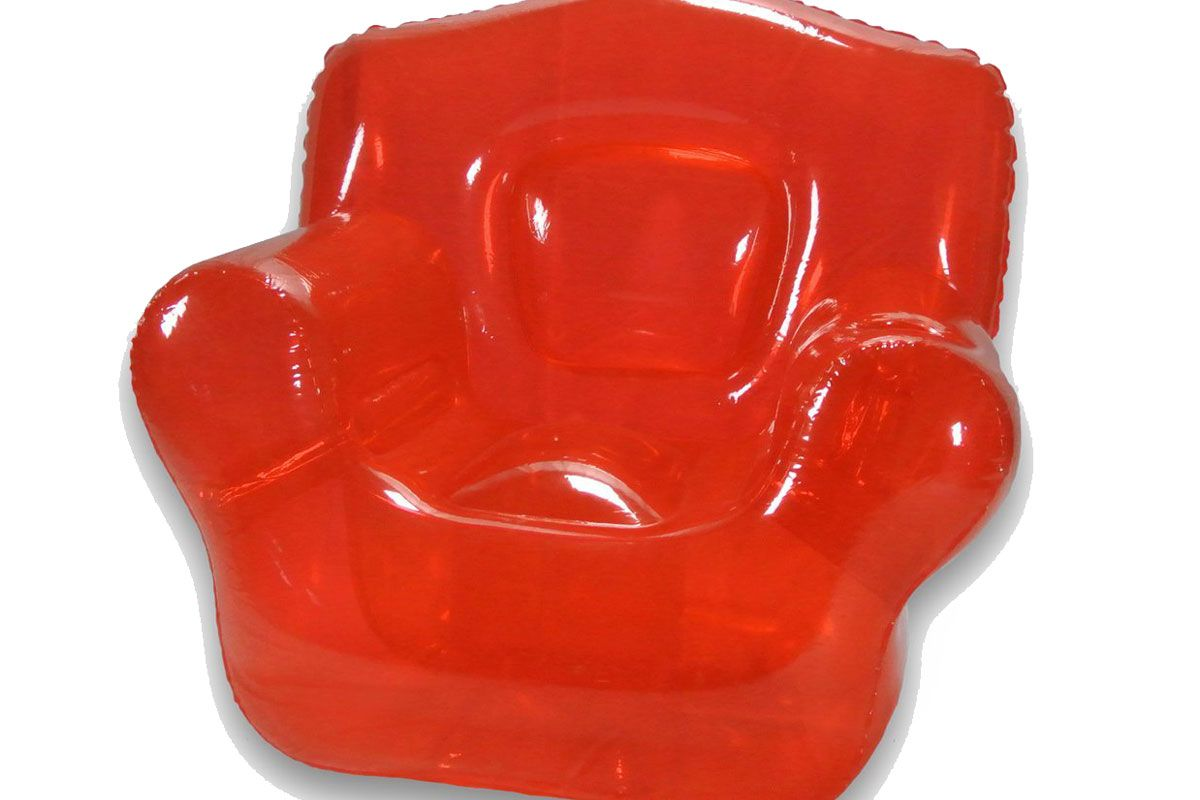 Inflatable Bubble Chair, Real Red