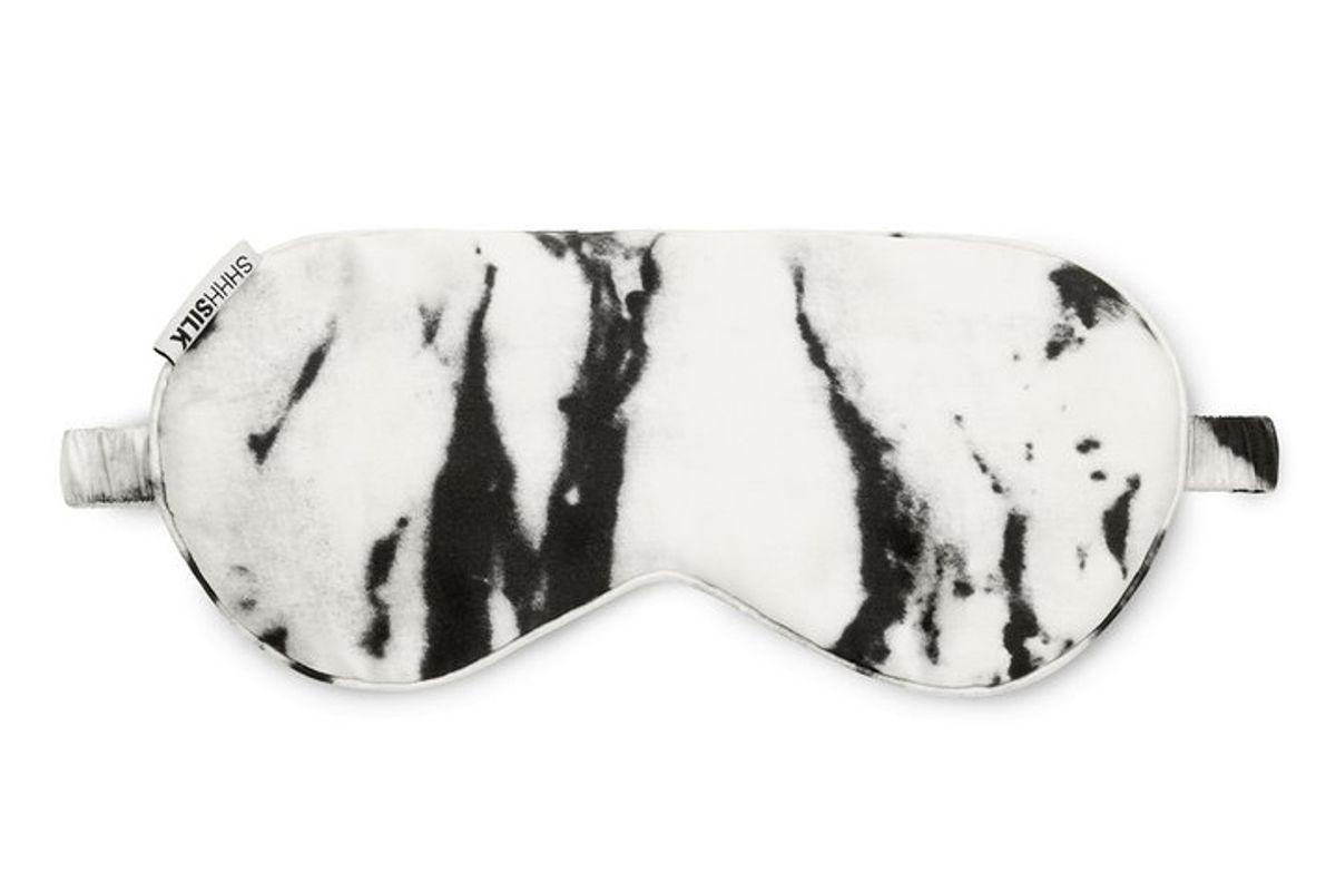 White Marble Eye Mask