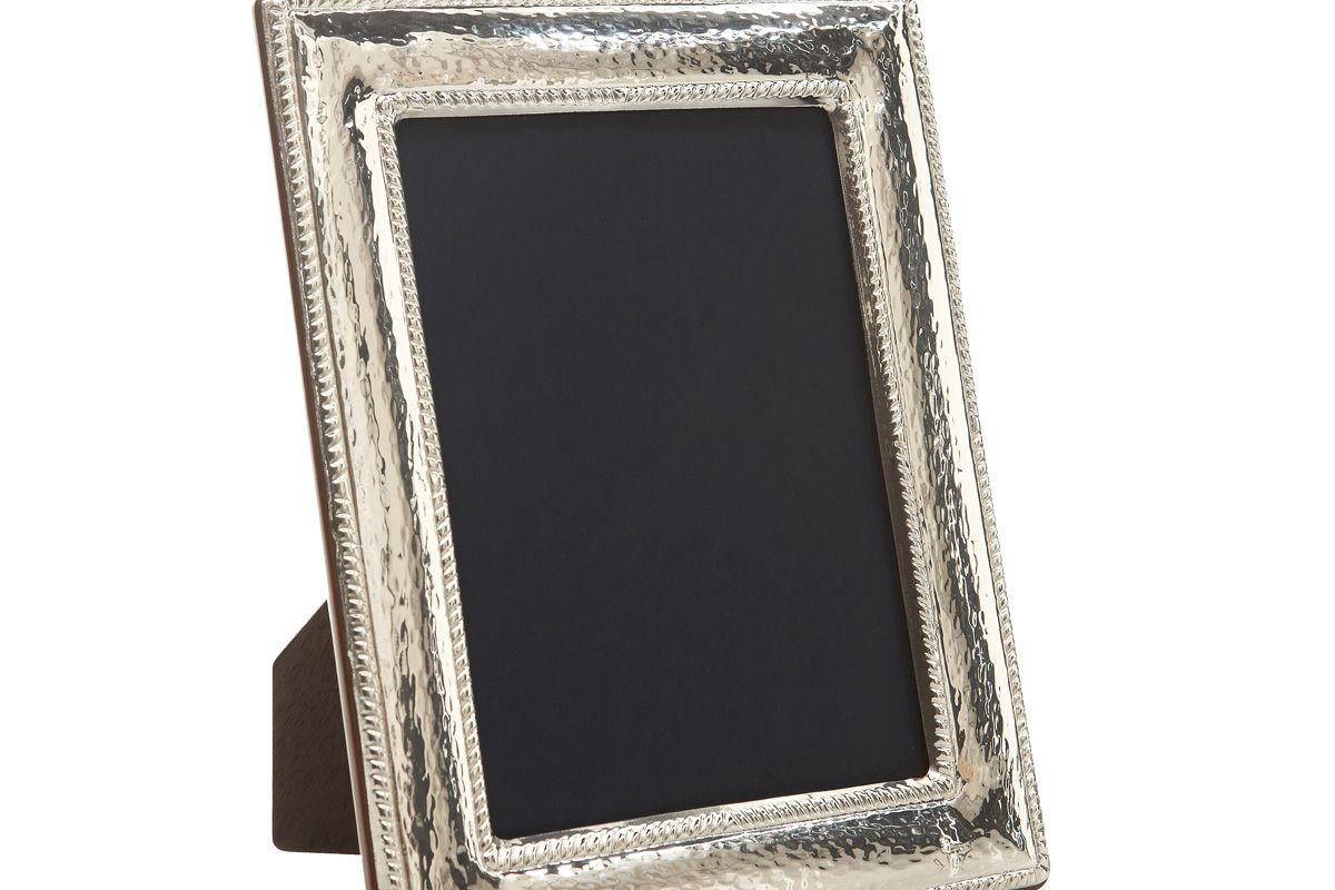 Hammered Braid Sterling Frame, 8x10