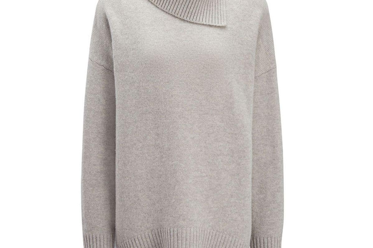 Soft Wool High Neck Sweater