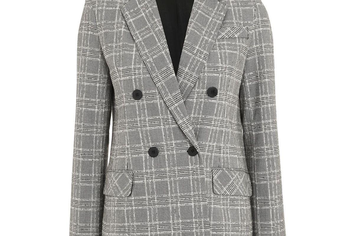 Textured Check Jacket