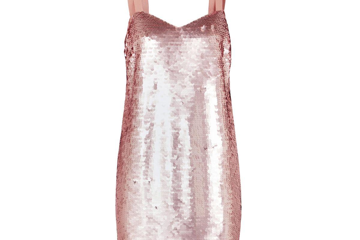 Yokners Paillette-Embellished Tulle Mini Dress