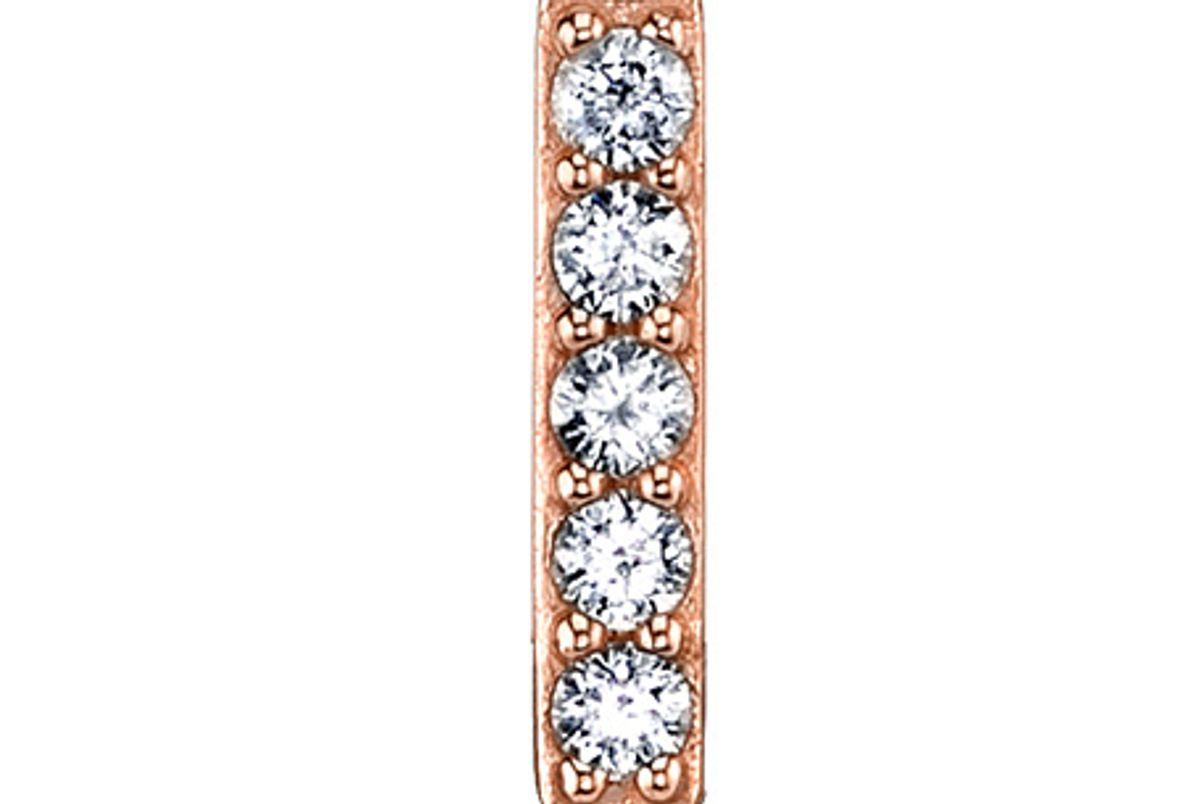 Mini Diamond Line Earring