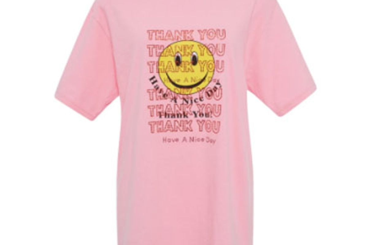 Thank You, Have A Nice Day Cotton Tee