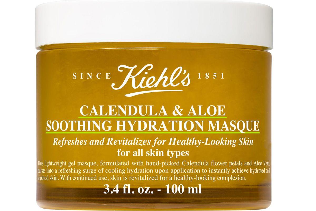 kiehls calendula and aloe soothing hydration mask