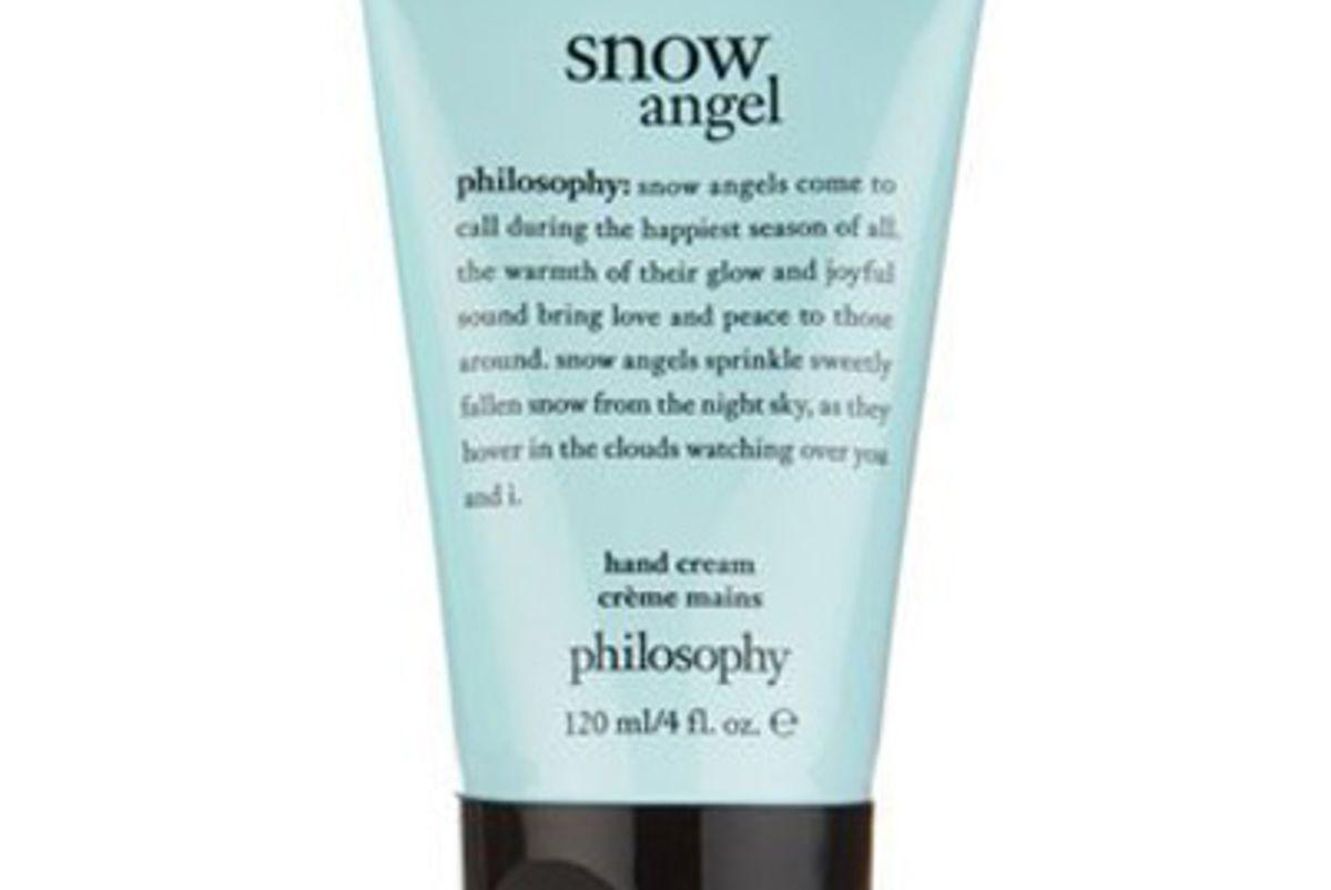 philosophy snow angel hand cream