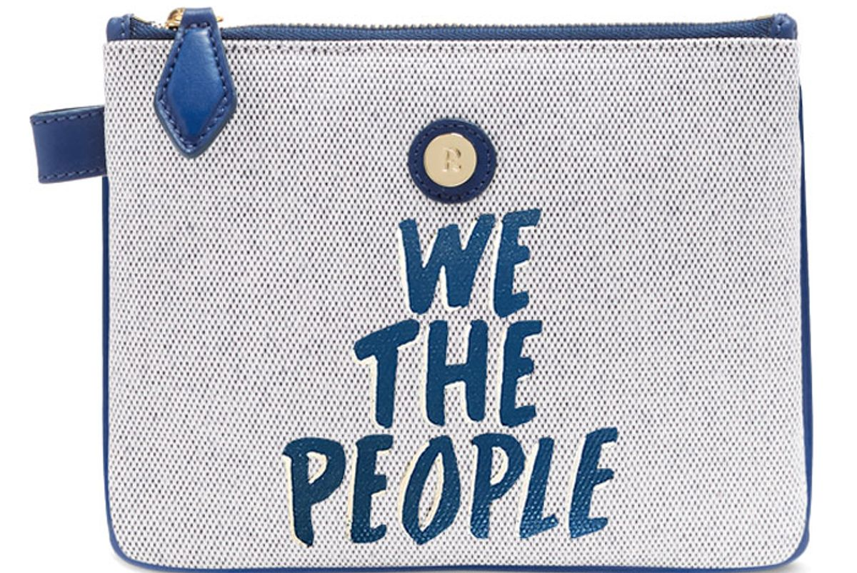 We The People Zip-Top Pouch
