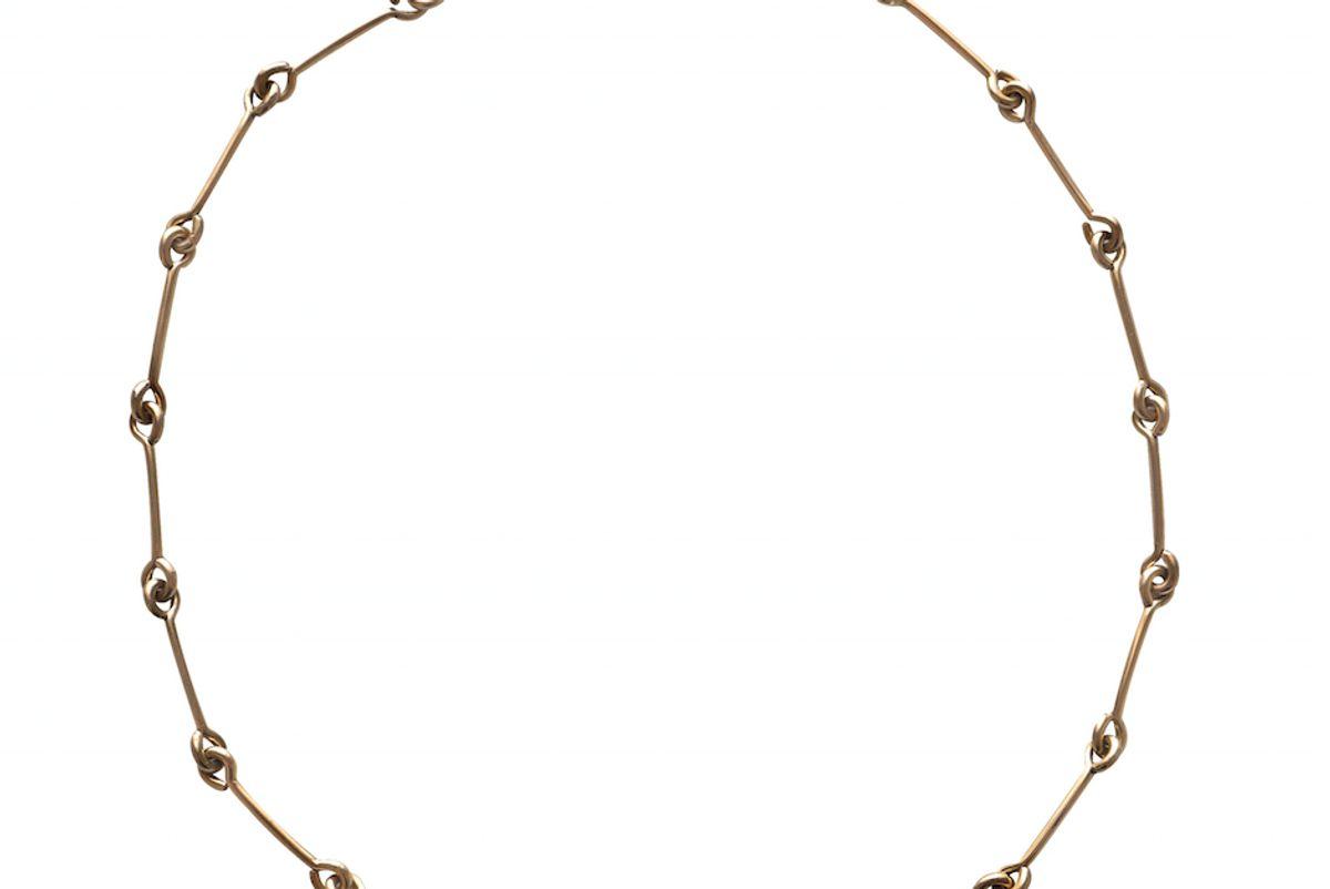 laura t lombardi treccia necklace