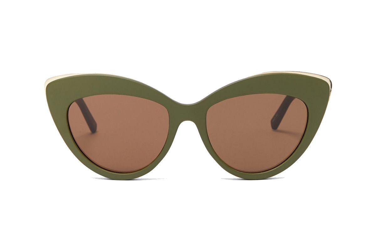 le specs beautiful stranger cat eye sunglasses