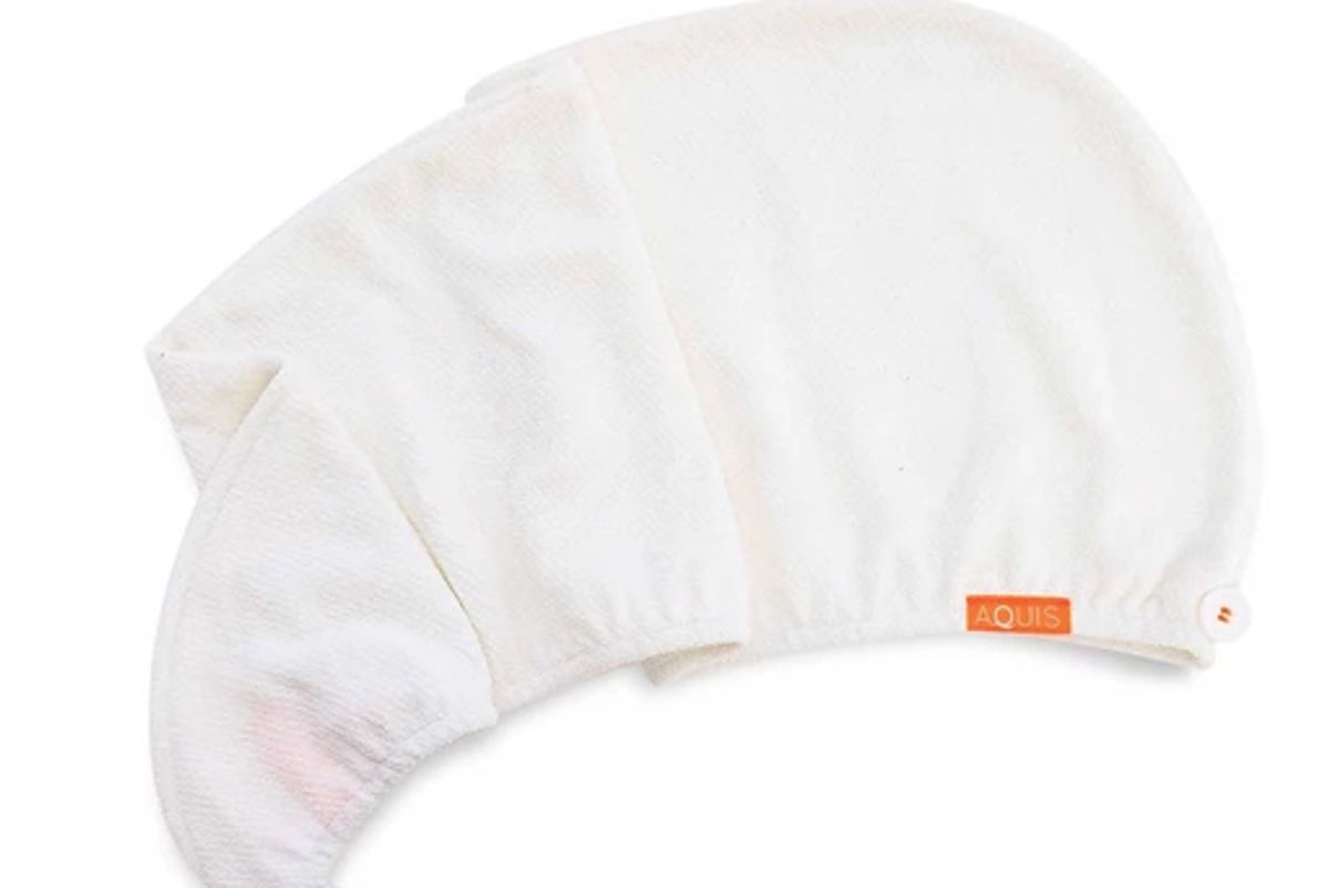 aquis rapid dry lisse hair turban