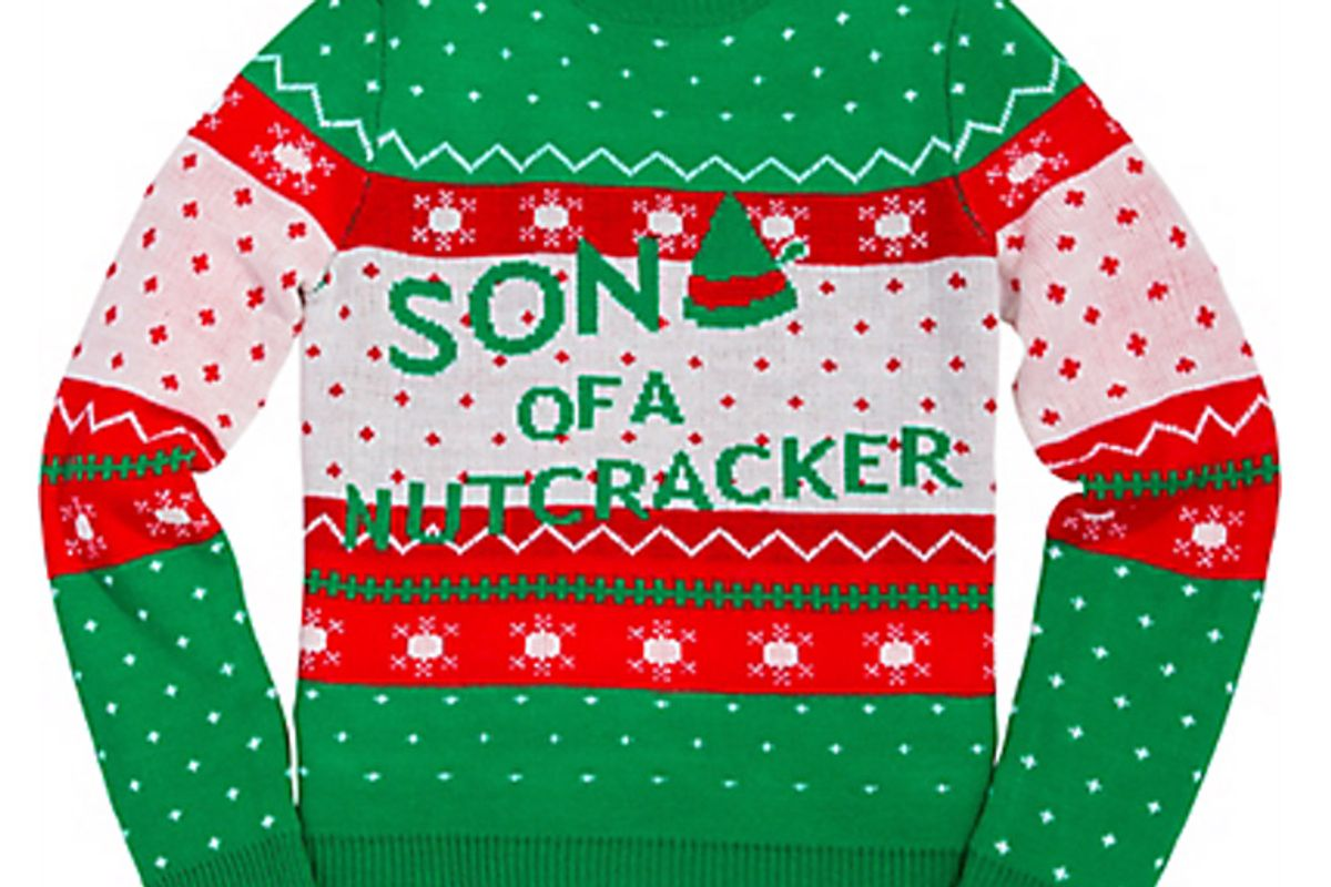 Son of a Nutcracker Ugly Christmas Sweater