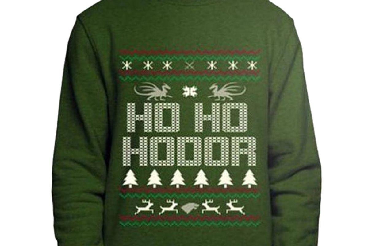 Game of Thrones, Hodor Christmas Sweatshirt