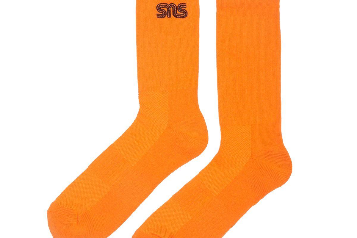 sneakersnstuff sns logo socks