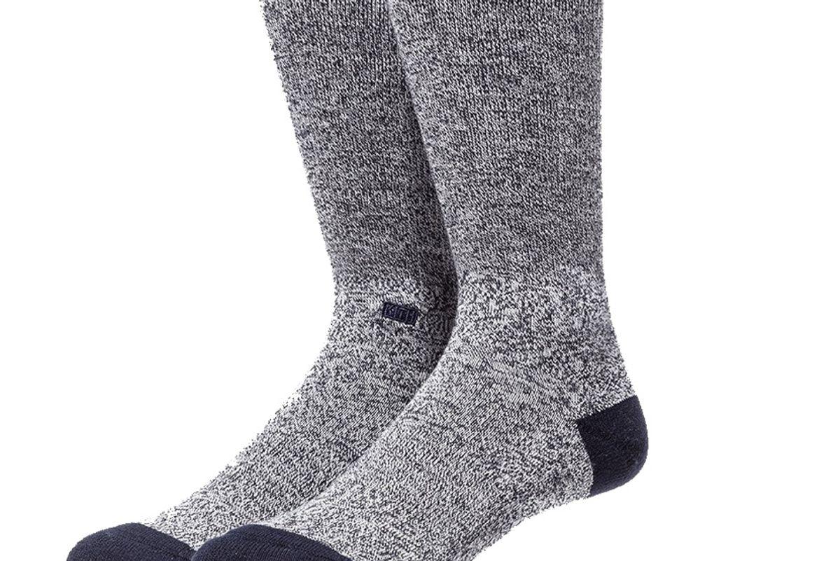 kith classics x stance crew socks navy